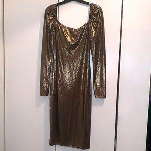 BooHoo Women's Midi Dress